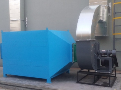 水木清活性炭吸附装置