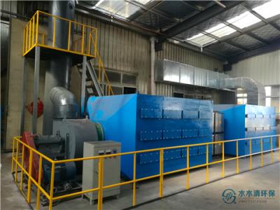 机械厂喷漆废气处理项目